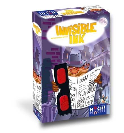 """Familienspiel """"Invisible Ink"""" von HUCH!"""