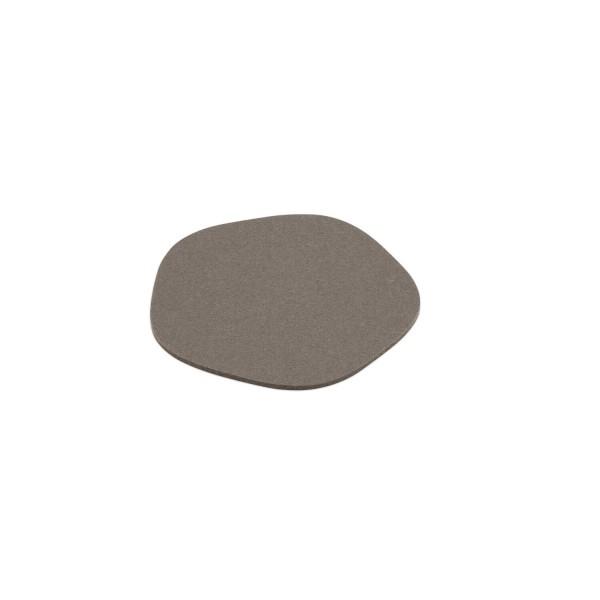 """Filz-Untersetzer """"Pebble"""" - 20 cm (Graubraun/Taupe) von HEY-SIGN"""