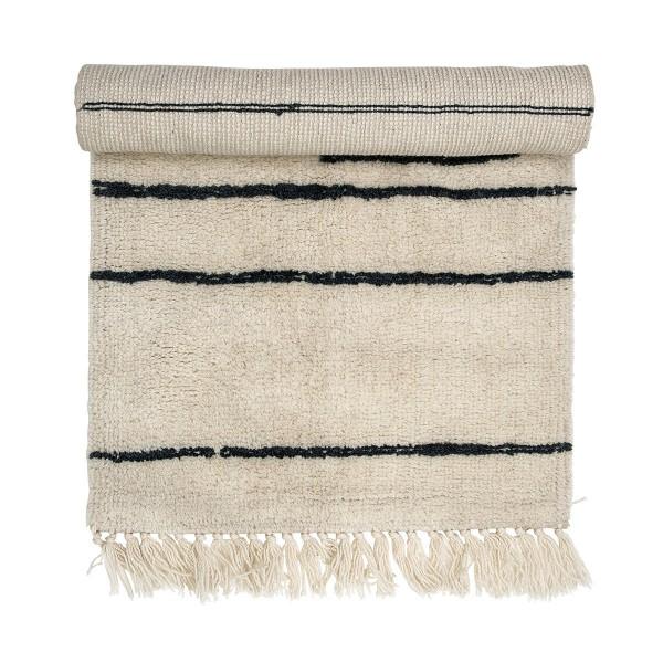 Heimeligkeit pur: Teppich aus Wolle von Bloomingville