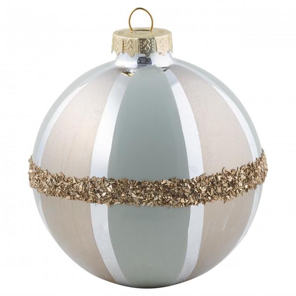 "GreenGate Weihnachtskugel ""Pale Gold"" (Glas)"