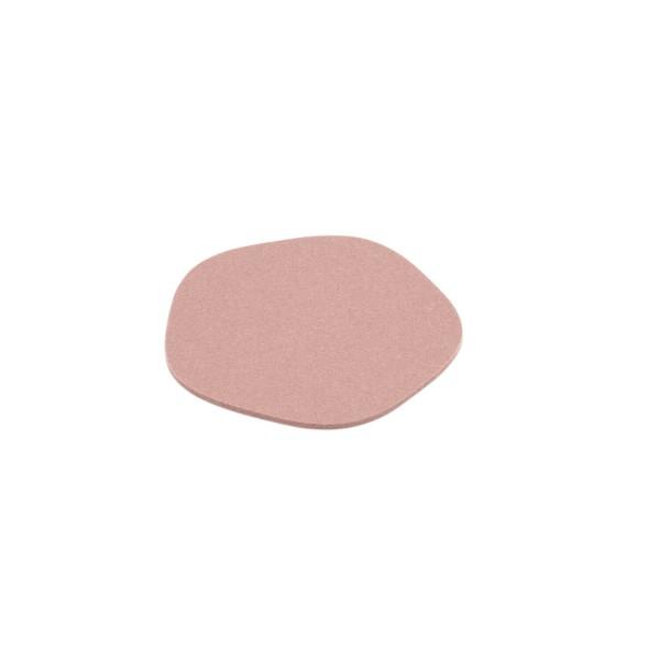 """Filz-Untersetzer """"Pebble"""" - 20 cm (Rosa/Powder) von HEY-SIGN"""