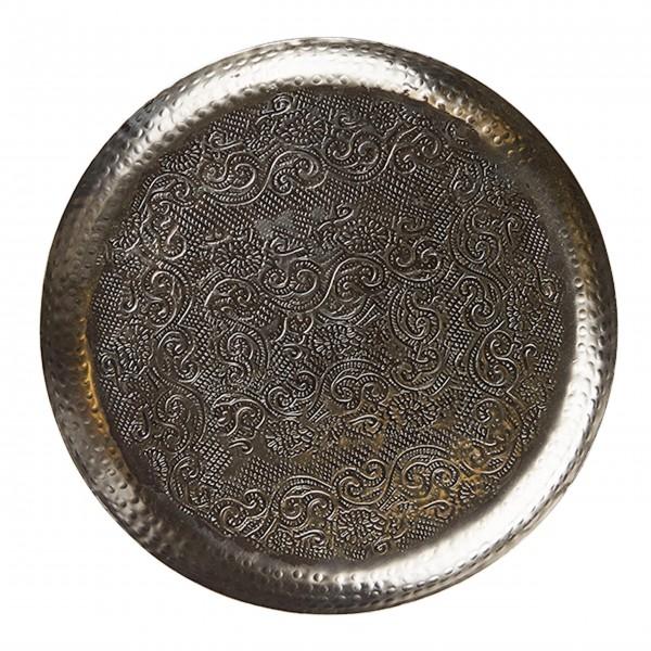 Dekotablett aus Metall - von Bahne