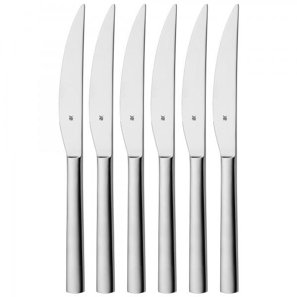 WMF Steakmesser-Set Nuova, 6-tlg., Edelstahl
