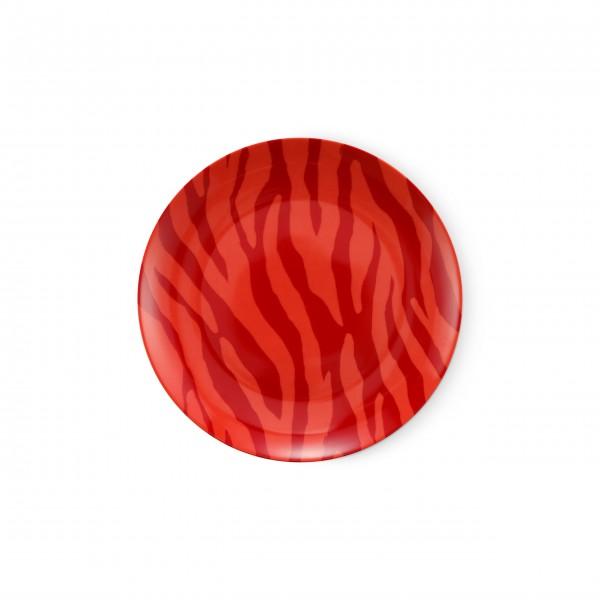 """FABIENNE CHAPOT Frühstücksteller """"Zebra Stripes"""" (Rot)"""