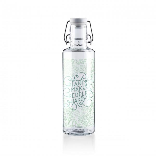 Liebevolle Trinkflasche aus Glas von Soulbottles