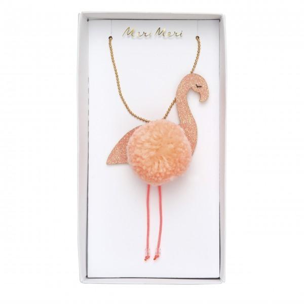 "Halskette ""Flamingo"" von Meri Meri"