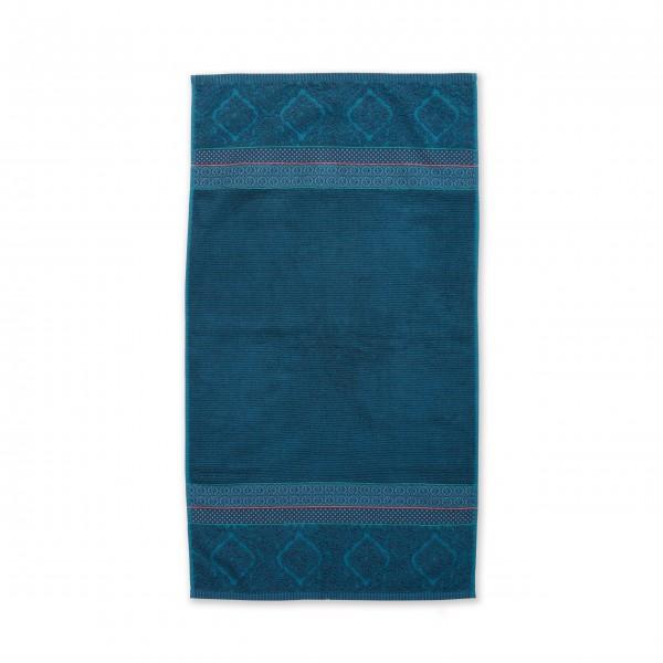 """Pip Studio Handtuch """"Soft Zellige"""" - (Blau) 55x100 cm"""