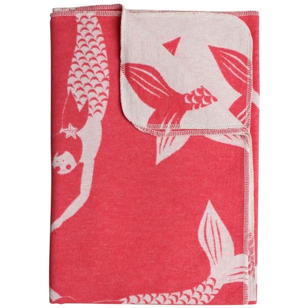 Kuschelige Decke in Meerjungfrauenlook
