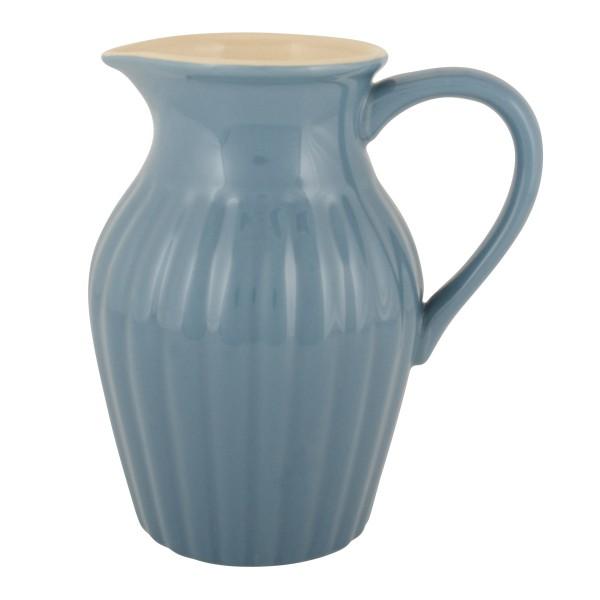 Herrlich blauer Keramikkrug - aus der Mynte-Serie von Ib Laursen