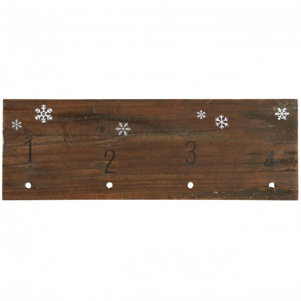 """Ib Laursen Holzschild """"Adventkalender"""""""