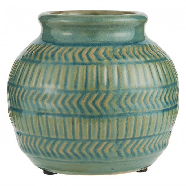 """Ib Laursen Vase """"Muster"""" (Grün)"""