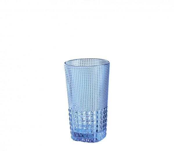 """Cilio Trinkglas """"Crystal-Line"""" (Aquamarin) 400 ml"""