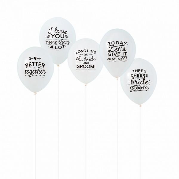 """Balloons """"Wedding"""" von mr. wonderful*"""