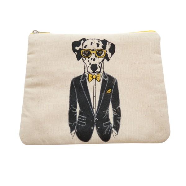 """Kleines Baumwolltäschchen """"Mr. Doggy"""" von AU Maison"""