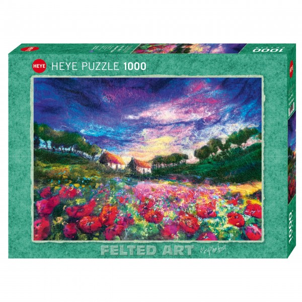 "Puzzle ""Sundown Poppies"" von HEYE"