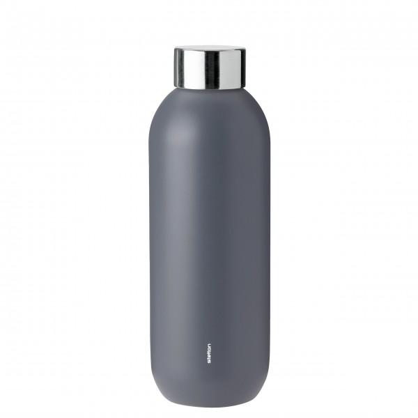 "Stelton Trinkflasche ""Keep Cool"" - 0,6L - (Grau)"