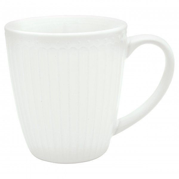 "GreenGate Henkeltasse ""Alice"" (White)"