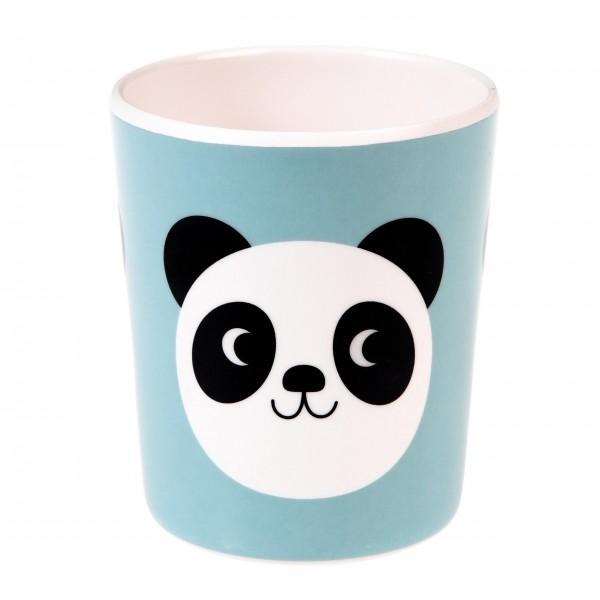 """Süßer Melaminbecher mit """"Miko Panda"""""""