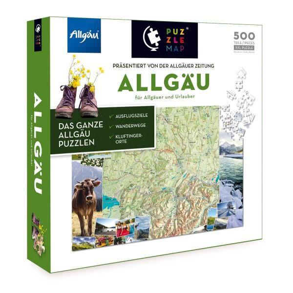 """PuzzleMap """"Allgäu"""" von puzzlemap"""