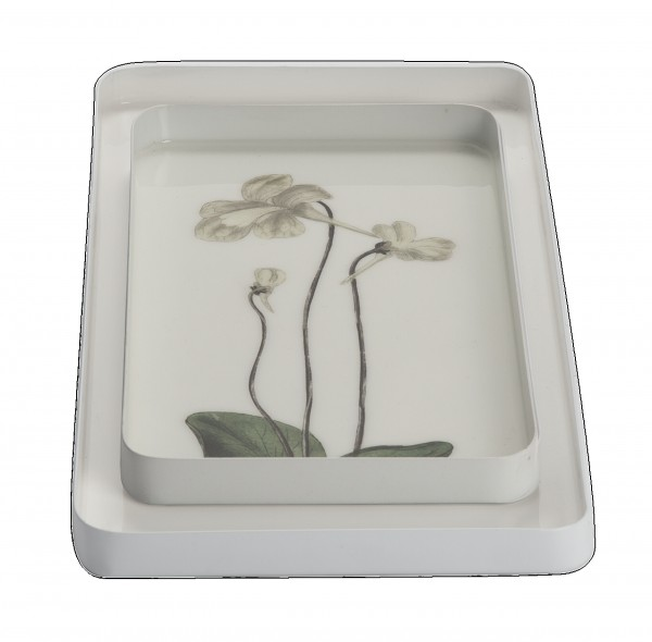 """AU Maison Deko-Schale """"White Flower"""""""