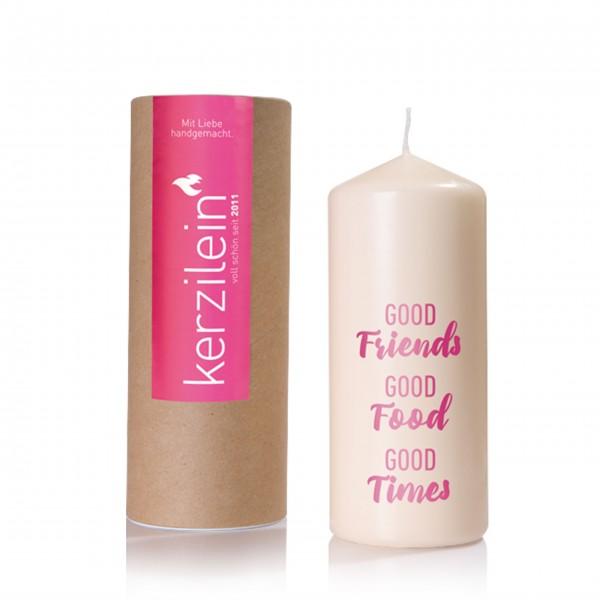 Kerze für beste Freunde: von Kerzilein