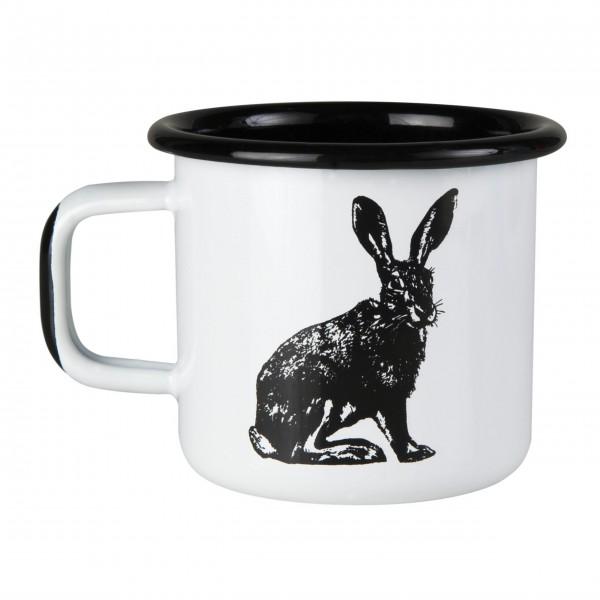 "Muurla Emaille Becher ""Nordic-Hare"""