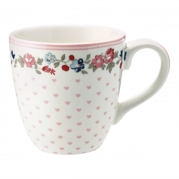 "GreenGate Kinder-Tasse ""Ruby Petit"" (White)"