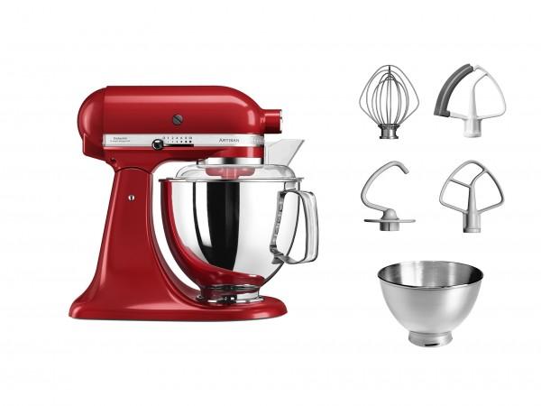 """Klassich KitchenAid in Empire Rot - die """"Artisan"""" Küchenmaschine"""