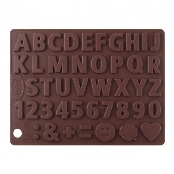 "Dr. Oetker Silikon-Schokoladenform ""Buchstaben & Zahlen"" - 2er Set-1"