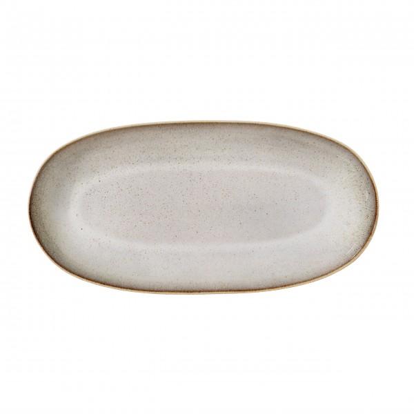 """Bloomingville - Große Keramikplatte """"Sandrine"""" (Grau)"""