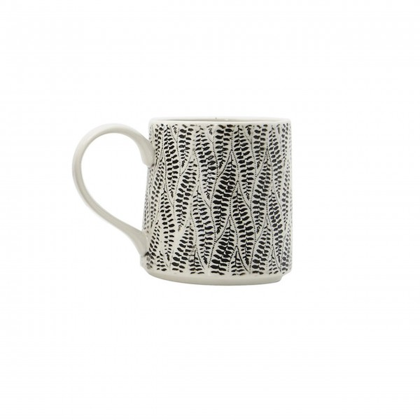"Kaffeetasse ""Gatherings"" (Schwarz) von Creative Collection by Bloomingville"