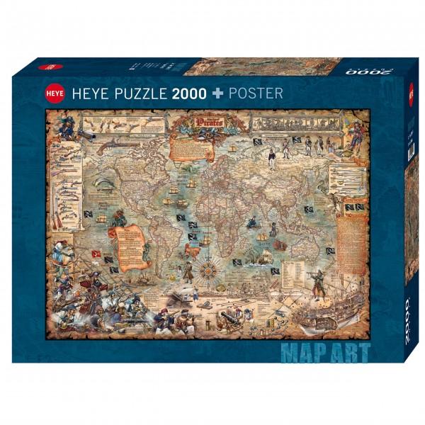 """Puzzle """"Pirate World"""" von HEYE"""
