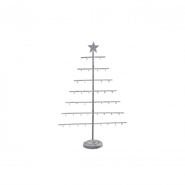 """Chic Antique Halter """"Weihnachtsbaum-X19"""" (Grau)"""