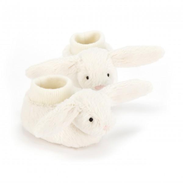 Bashful Cream Bunny Booties
