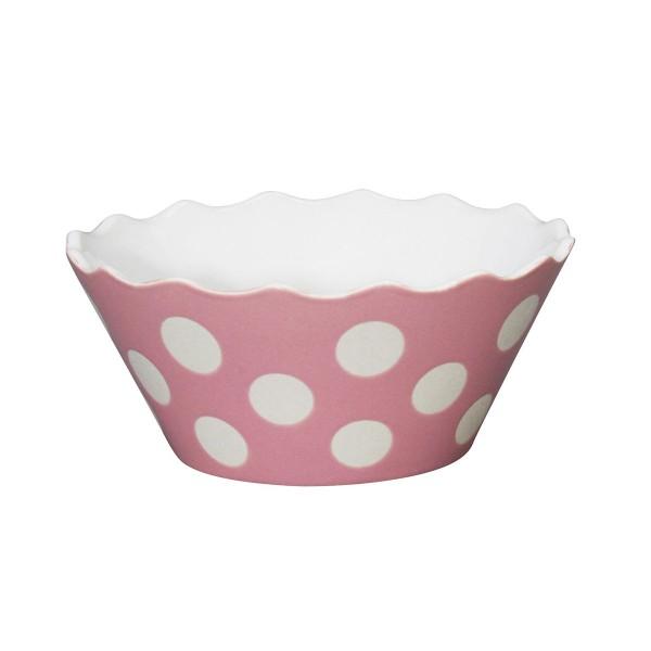 "Krasilnikoff Sweets Schale ""Big Dots"" (Rosa)"