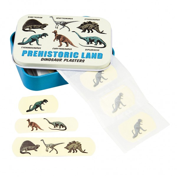 """Pflasterdose """"Prehistoric Land"""" von Rex LONDON"""
