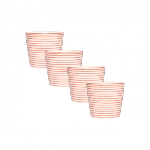 Hübsches Becherset aus Keramik: von Ib Laursen