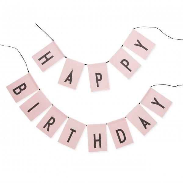 HAPPY BIRTHDAY-Girlande von DESIGN LETTERS