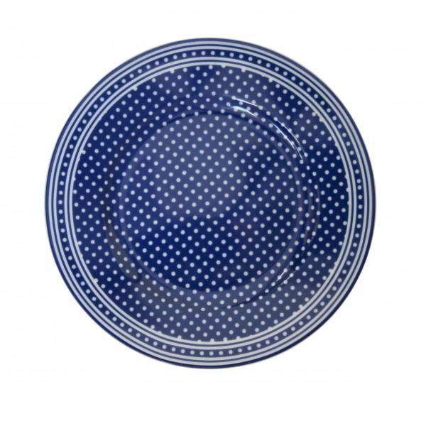 Fröhliches Tupfendesign: Porzellanteller von Krasilnikoff