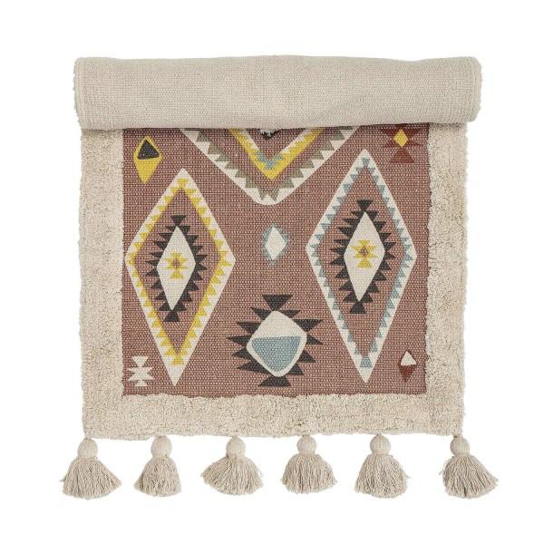 Bloomingville Kinderteppich aus Baumwolle (Bunt)