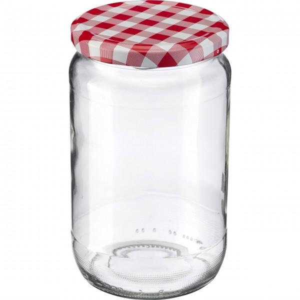 Westmark Einmach-Glas (Transparent/Rund) - 720 ml