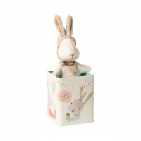 "Maileg Babyhase in Blechdose ""Happy Day"" - Small"