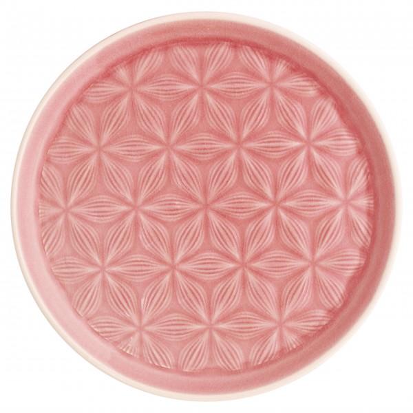 """GreenGate Keramikteller """"Kallia"""" (Pale Pink)"""