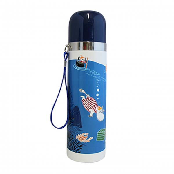 "Disaster Design Thermosflasche ""Moomin-Ozean"""
