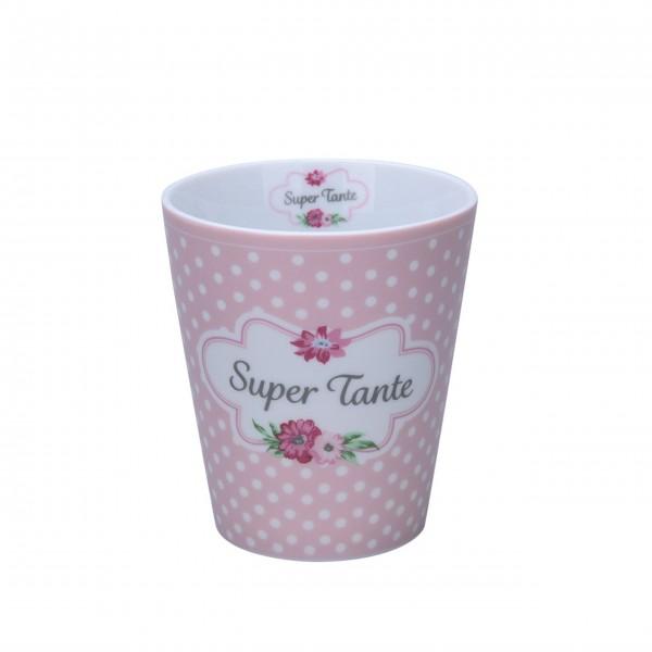 "Krasilnikoff Happy Mug ""Super Tante"""