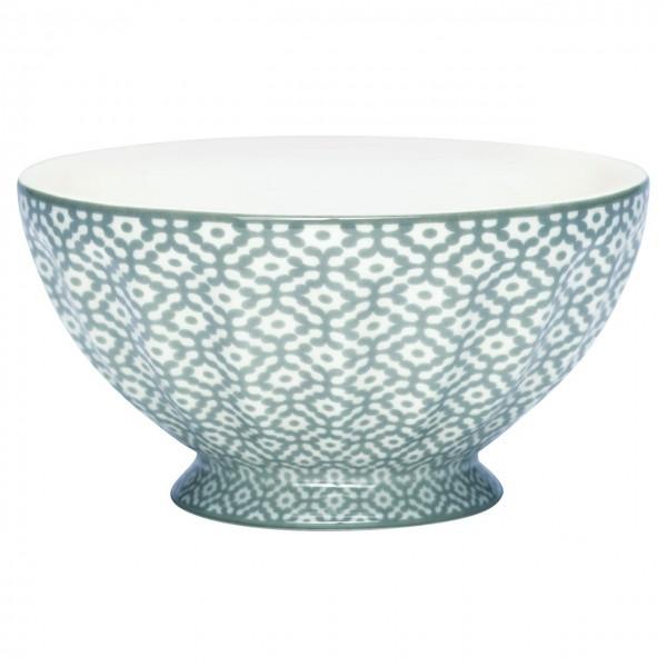 """GreenGate Schüssel - French Bowl """"Jasmina"""" (Warm Grey)"""