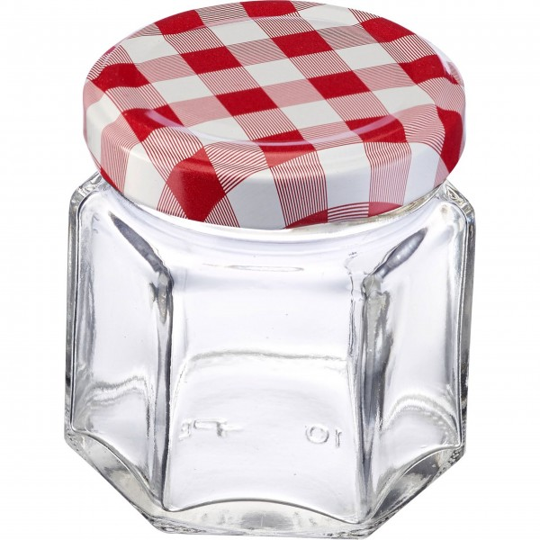 Westmark Einmach-Gläser im Set (Transparent/Eckig) - 45 ml