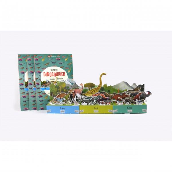 """Laurence King Bastelbuch """"Zeitreise Dinosaurier"""""""