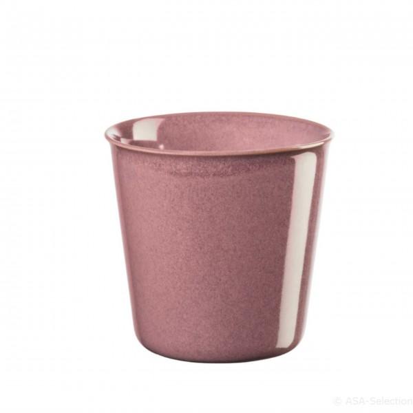 """Der ASA Becher """"Lungo"""" erstrahlt in kraftvollem Pink"""