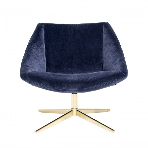 "Bloomingville Lounge-Sessel ""Elegant"" (Blau)"
